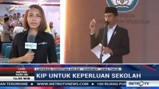Bagikan KIP di Sumenep, Presiden: KIP untuk Keperluan Sekolah