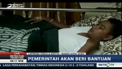 Kondisi Korban Sambaran Petir di Aceh Berangsur Membaik