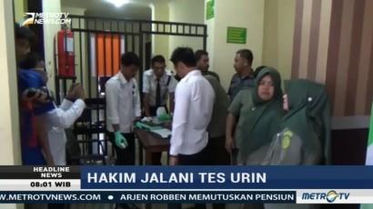 BNN Gelar Tes Urine di PN Polewali