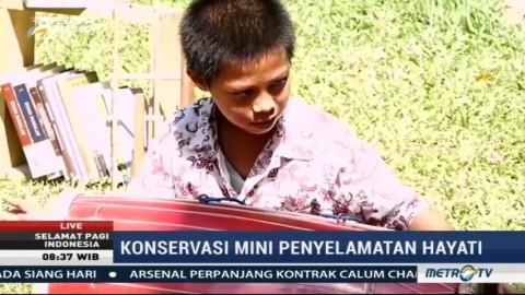 Konservasi Mini Penyelamatan Kekayaan Hayati di Rumah Hijau Denassa (2)