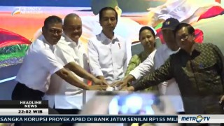 Jokowi Resmikan Tol Palembang-Indralaya