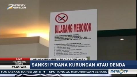 Perda Larangan Merokok di Aceh Belum Sepenuhnya Dipatuhi