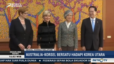 Australia-Korsel Bersatu Hadapi Korut