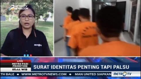 Polisi Ungkap Peredaran SIM dan KTP Palsu di Manado
