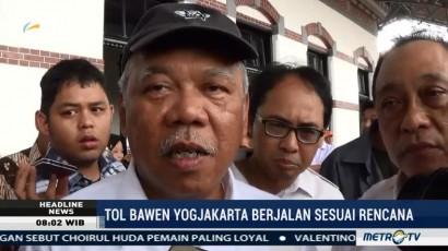 Menteri PUPR: Proyel Tol Bawen Berjalan Sesuai Rencana