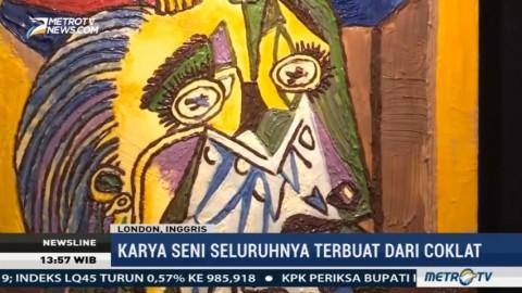 Lukisan-lukisan Terkenal Ini Terbuat dari Coklat
