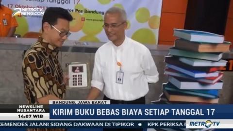 PT Pos Telah Kirim 140 Ribu Buku Gratis ke Pelosok Indonesia