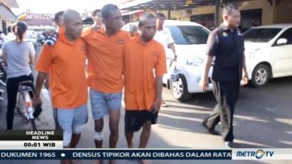Polisi Lumpuhkan Begal Spesialis Jalur Pantura
