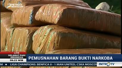BNNP Sumut dan Aceh akan Musnahkan 181 Kg Sabu