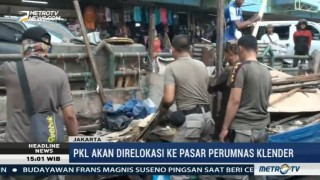 Satpol PP Bongkar 340 Lapak PKL di Jakarta Timur