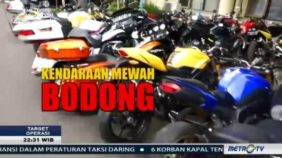 Kendaraan Mewah Bodong (1)