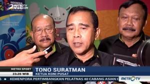 KONI Optimistis Target Asian Games 2018 Tercapai