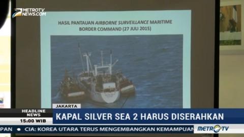 Nahkoda Kapal Silver Sea 2 Jadi Terdakwa