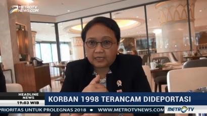 Korban Tragedi 1998 Terancam Dideportasi, Pemerintah Jalin Komunikasi dengan AS