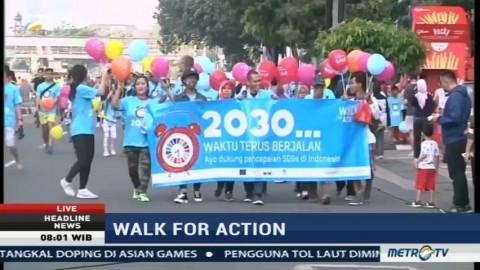 Koalisi Perempuan Gelar Walk For Action Sosialisasikan SDGs