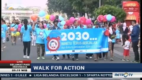 Walk for Action, Aksi Dukung Pencapaian SDGs di Indonesia (2)