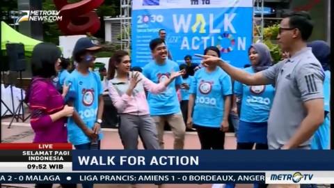 Walk for Action, Aksi Dukung Pencapaian SDGs di Indonesia (3)