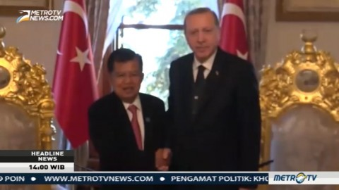 Indonesia-Turki Sepakat Bentuk Forum Tingkat Tinggi