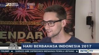 Ratusan Mahasiswa Asing Peringati Hari Berbahasa Indonesia di UI