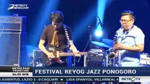 Kemeriahan Festival Reyog Jazz Ponorogo