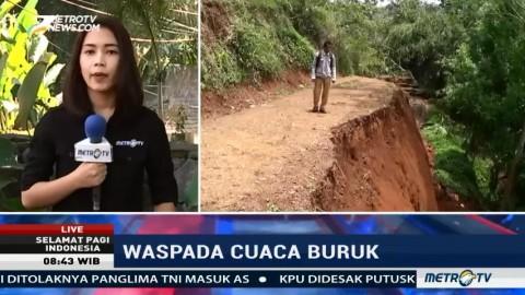 Jalan Amblas, Puluhan KK di Kabupaten Ciamis Terisolir