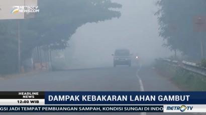 Kabut Asap Ganggu Aktivitas Warga Aceh Barat