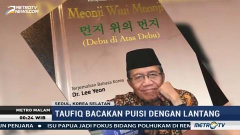Puisi Taufiq Ismail Bergema di Negeri Ginseng