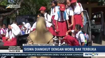 Terdampak Pembangunan Bandara Kulon Progo, Siswa SD Direlokasi