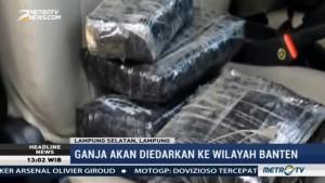Polisi Sita 78 Kg Ganja Disembunyikan di Dalam Pintu Mobil
