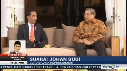 Johan Budi: Pertemuan Jokowi-SBY Bahas Perppu Ormas