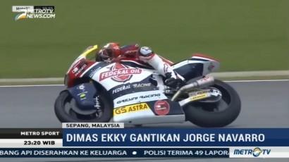 Debut Pembalap Muda Indonesia di Moto2