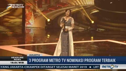 Zilvia Iskandar Sabet Gelar Presenter Berita Terbaik di Anugerah KPI 2017