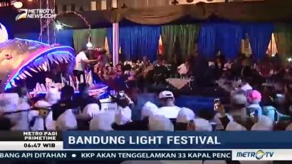 Kemeriahan Bandung Light Festival