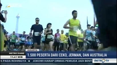 Menjelajahi Ibu Kota Lewat Jakarta Marathon 2017