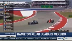 Hamilton Kejar Gelar Juara di Meksiko