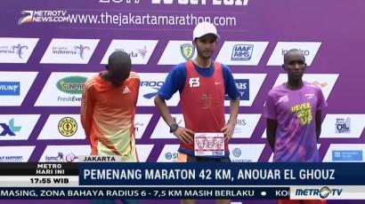 Pelari Maroko Juara Jakarta Marathon 2017