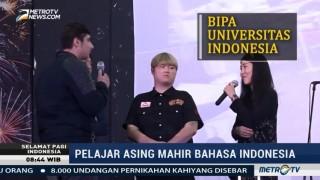 Pelajar Asing Mahir Bahasa Indonesia