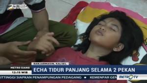 Mengidap Sindrom Tidur, Gadis di Banjarmasin Terlelap Selama Dua Pekan