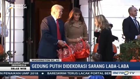 Perayaan Halloween ala Trump