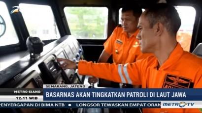 Basarnas akan Tingkatkan Patroli di Laut Jawa