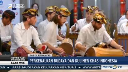 Warna-warni Indonesia Curi Perhatian Warga Prancis