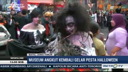 Lihat Keseruan Pesta Halloween di Museum Angkut