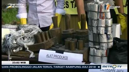 Polisi Sita Puluhan Ribu Petasan dari Industri Rumahan di Tangerang