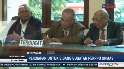 HTI dan Kemenkumham Jalani Pemeriksaan di PTUN Jakarta