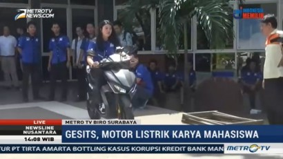 Gesits, Motor Listrik Karya Mahasiswa ITS