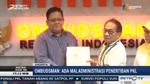 Ombudsman Temukan Dugaan Maladministrasi dalam Penataan PKL di DKI