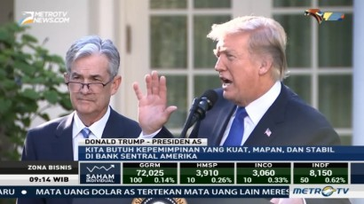 Trump Tunjuk Jerome Powell Pimpin The Fed