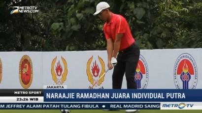 Dua Pegolf Jabar Juara Kerjurnas Amatir 2017