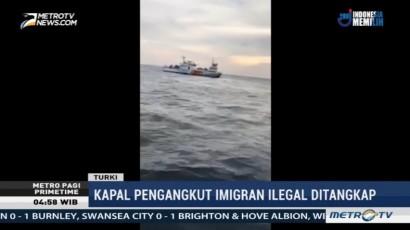Turki Tangkap Kapal Pengangkut Imigran Ilegal