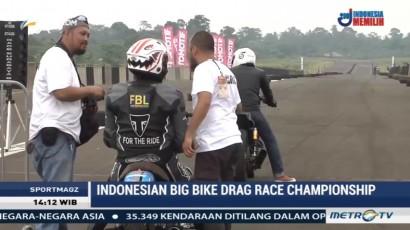 Serunya Ajang Balap Indonesian Big Bike Drag Race Championship 2017